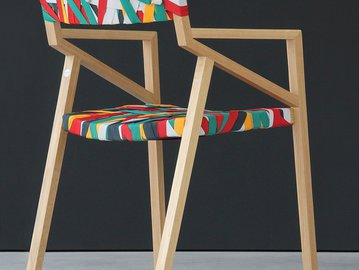 Как модно украсить офисный стул
