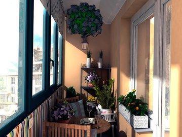 """Ваш балкон завален хламом? А может стать """"балкон а-ля Париж"""". Лайфхаки для создания на балконе райской атмосферы"""