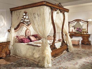 Кровать с балдахином? Роскошный интерьерный элемент в вашей спальне