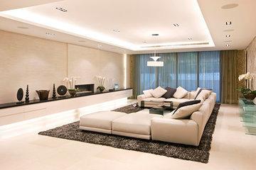 Десять дизайнерских решений для низких потолков