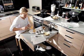 Как сэкономить пространство в маленькой кухне