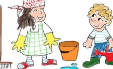 Как научить ребёнка помогать по дому