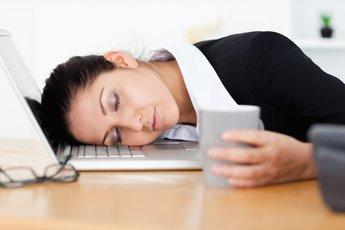 Искусство спать на работе