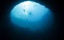 """Найдена глубочайшая в мире """"голубая дыра"""""""