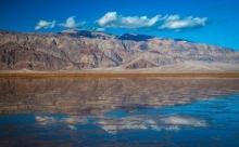 В Долине смерти появилось озеро, которого нет на картах