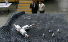 Россия начнет строить лунную базу после 2030 года