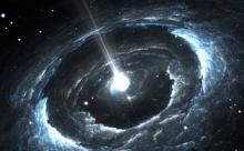 В космосе движется объект с невероятной скоростью