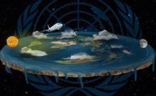 Под куполом - теория плоской Земли