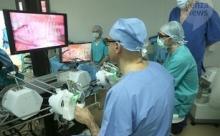 В Пензе робот-хирург впервые провел операцию