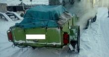 В Туве задержали водителя с пелядью