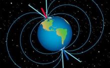 Северный магнитный полюс Земли смещается в Сибирь