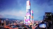 В Тайбэе появятся интерактивные башни-близнецы